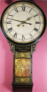 Tavern Clock by Daniel Ray of Sudbury