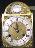 Very rare mid 18th century <strong>Longcase Clock</strong> with 7&quot; dial