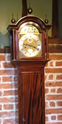 English handmade Dwarf Longcase Clock