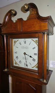 A very charming small sized 30 hour Longcase Clock