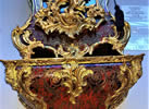 An impressive Louis XV style, gilt brass mounted Boulle Bracket Clock