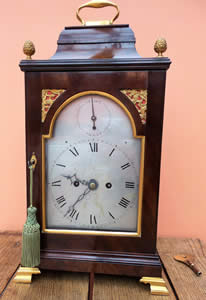 A very fine and rare 8 day, striking Bracket Clock