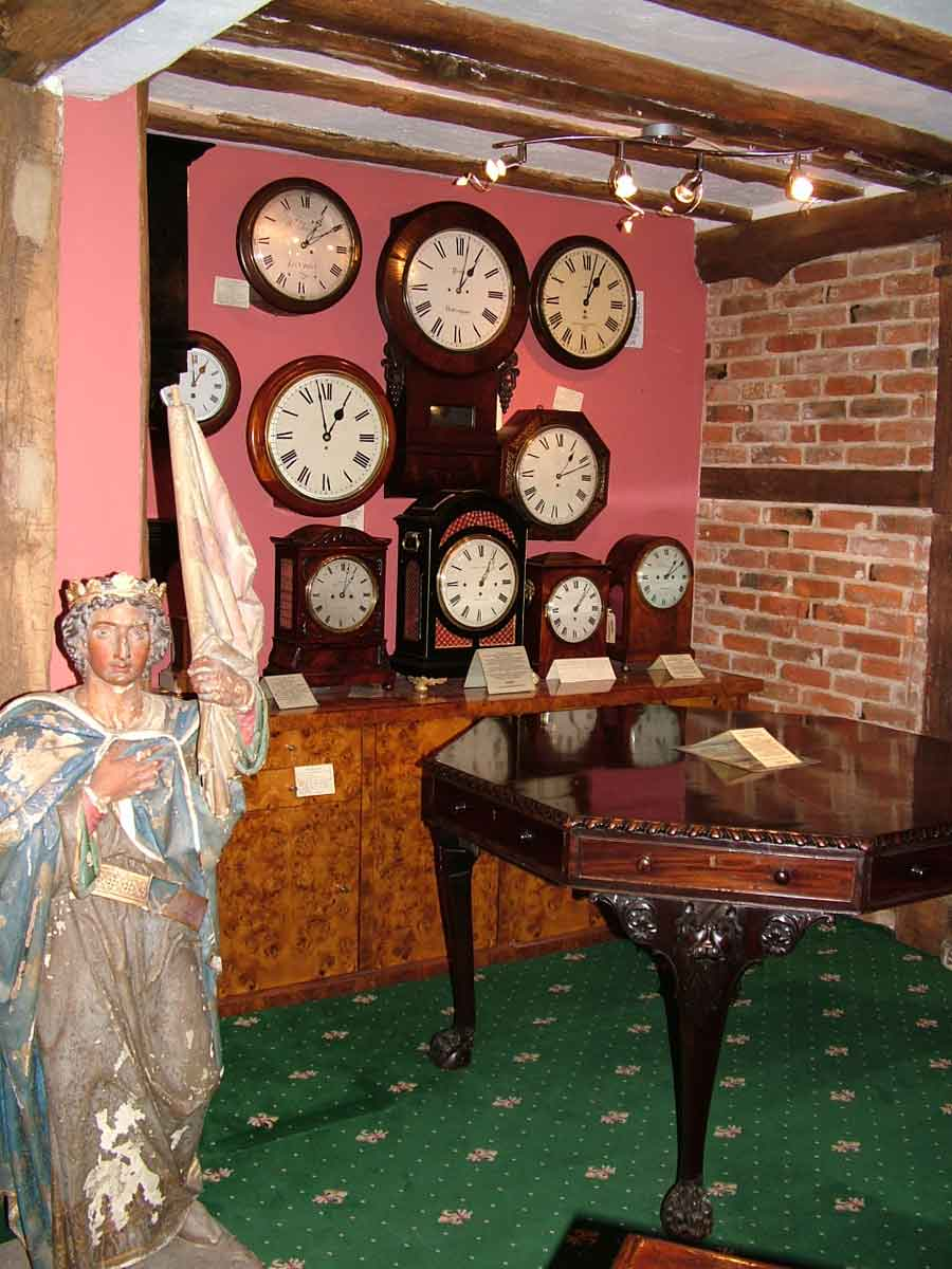 Finchingfield antique clocks