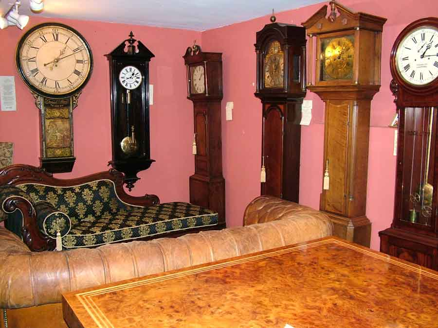 Antique longcase clocks