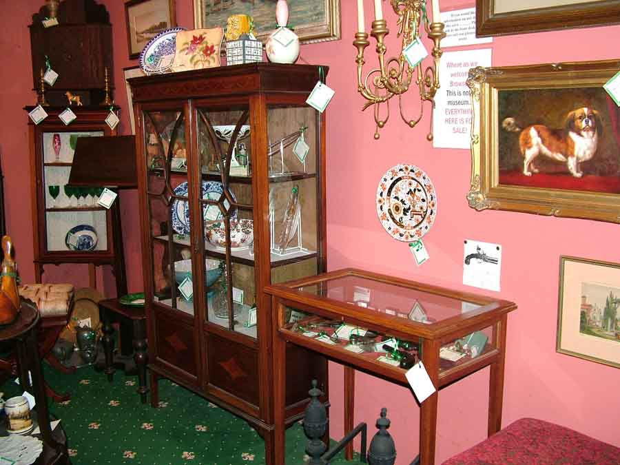 Finchingfield antique dial clocks