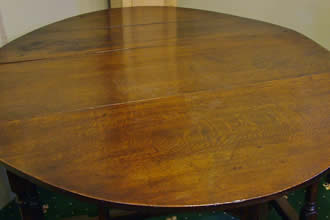 18th cent oak gateleg table