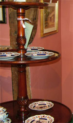 19th. century gilt wood and composition Console Table with marble top